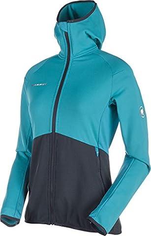 Mammut Botnica Light ML Hooded Women's Jacket aqua/marine L