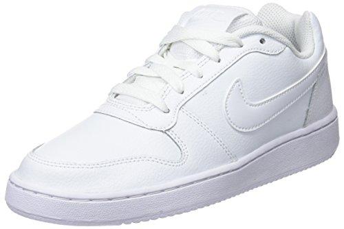 Nike Damen Wmns Ebernon Low Sneakers, Weiß (White/White 001), 39 EU