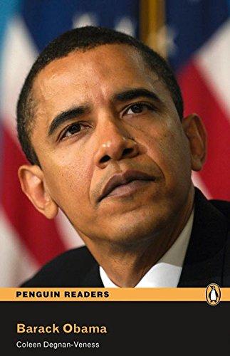 Penguin Readers 2: Barack Obama Book and MP3 Pack (Pearson English Graded Readers) - 9781408261262 (Pearson english readers)