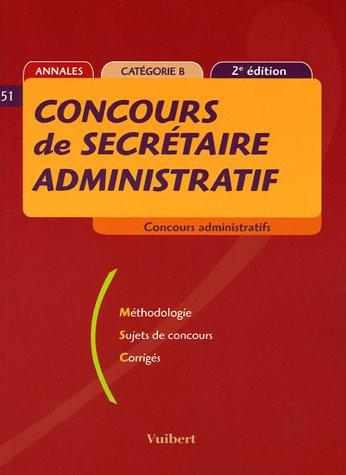 Concours de secrétaire administratif
