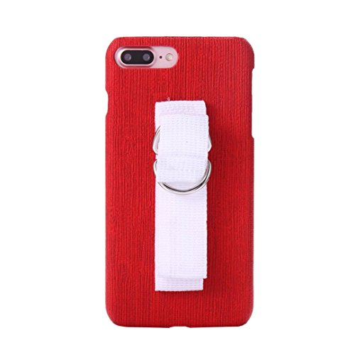 EKINHUI Case Cover IPhone 7 Fall-Abdeckung, spinnende Beschaffenheits-Muster-harte rückseitige Abdeckung des Plastiks mit Ring-Abzuglinie für Apple IPhone 7 ( Color : 4 , Size : IPhone 7 ) 3