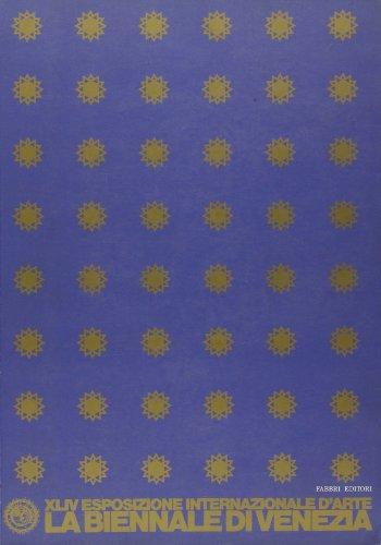 La Biennale di Venezia. XLIV Esposizione internazionale d'arte. Catalogo generale 1990. Dimensione futuro. L'artista e lo spazio.
