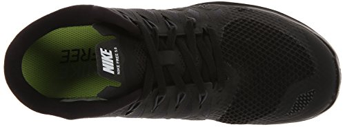 Nike Nike Free 5.0 Flash, Chaussures de running femme Noir (Black/White-Anthracite)