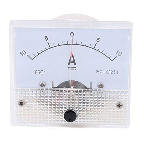 85c1 DC -10 tot + 10A klasse 2,5 nauwkeurigheid panel mount analoge ampèremeter