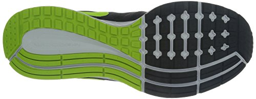 Nike Air Zoom Pegasus 31, Scarpe sportive, Uomo Black/Volt