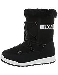 3268c5bf1 Amazon.es  pompones - Botas   Zapatos para mujer  Zapatos y complementos
