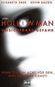 Hollow Man - Unsichtbare Gefahr [VHS]: Kevin Bacon