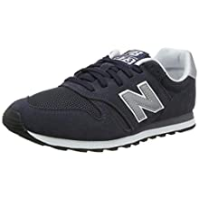 New Balance Men's 373 Core Low-Top Sneakers, Blue (Navy), 6.5 UK 40 EU