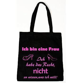 661a14fac0d28 handmade-in-nb by ComProjekt Foto Baumwollbeutel Tasche Bag - Ich bin eine  Frau