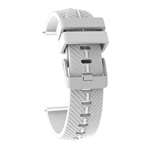 Lâ Vestmon Silikon Uhrenband Smart Watch Strap Sport Armband für TicWatch Pro Strap Silikon
