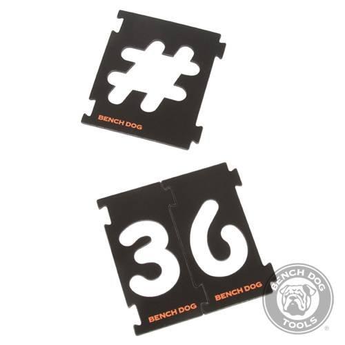 Schild für Kit Nummerierung 31pce, 31pce, Druckvorlagen interlock Nummerierung, eine stabile Muster für Schilder routing zu erzeugen. 7,62 cm Stil mit Comic Sans Schrift. Enthält je 2 Hauszahl 1, 2, 3, 4, 5, 6, 7, 8, 9 und Gehäuseummantelung 0.:., ',?,!, /, #, @, & und Symbolen $.