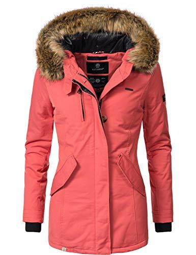 letzter Rabatt viele Stile Stufen von Navahoo Nisam – Giacca, cappotto invernale da donna, disponibile in 10  colori, taglie XS-XXL
