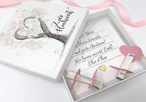 Deingastgeschenk Geldgeschenk zur Hochzeit Tree of Love
