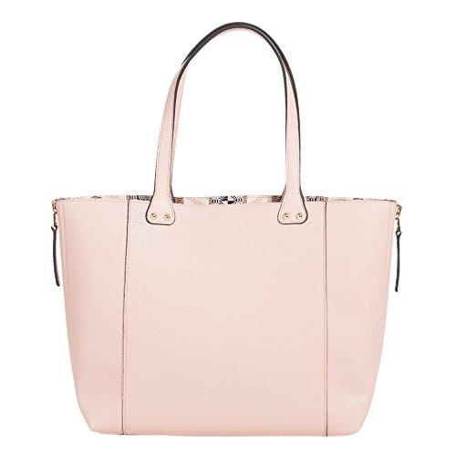 Parfois - Borsa Pu Di Base Shopper Colore Vino - Donne Rosa