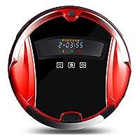 Lzour Autocargador Robot Aspirador Aspirador automático 1000Pa Fuerte succión Anti-caída Anti-colisión protección