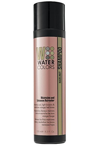 Tressa Watercolors Hazelnut Shampoo Maintains and Enhances Haircolor 8.5 fl. oz. NEW PACKAGING! by Tressa