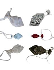 Krawatte für das Baby als Zubehör zum Taufanzug