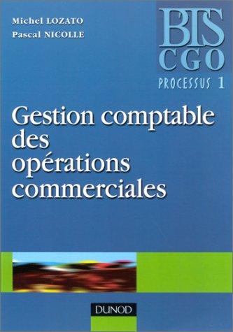 Gestion comptable des opérations commerciales, BTS CGO processus 1
