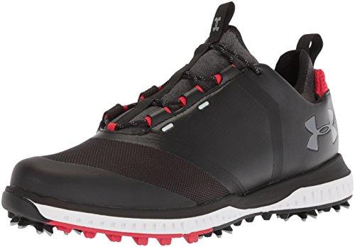 Under Armour3000215 - Tempo Sport 2 Uomo, Nero (Black (001)/Red), 46 EU