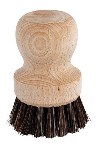 Redecker 750608 Siebträgerbürste 5,5 cm, Buchenholz & Rosshaar
