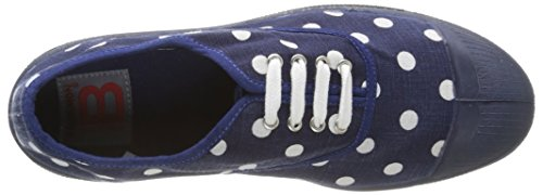 Bensimon Tennis Pastel Pastilles, Baskets Basses Femme Bleu (516 Marine)