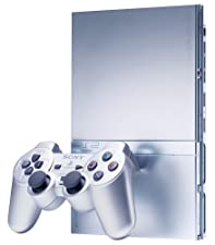 Sony Silver PlayStation 2 Console (Slimline)