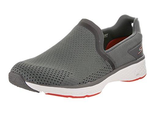 Skechers Go Walk Sport Energy Herren Textile Turnschuhe Charcoal