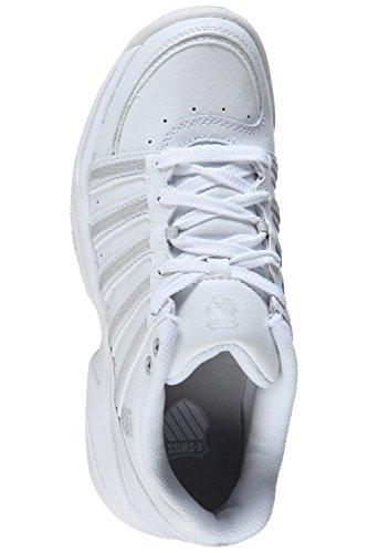 K-Swiss , Chaussures spécial tennis pour femme Blanc Blanc Blanc
