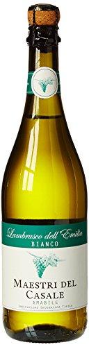 Lambrusco Dell Emilia Vino Blanco Ligeramente Espumoso, 8º - 0,75 L