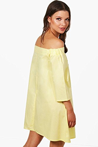 Damen Erröten Lottie Schulterfreies Kleid Erröten