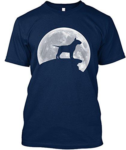 amen / Herren / Unisex von Teespring | Originelles Outfit für jeden Anlass und lustige Geschenksidee - Bullterrier Mond - Hundeliebhaber (Bull Outfit)