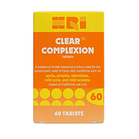 HRI Clear Complexion Tablets - Pack of 60