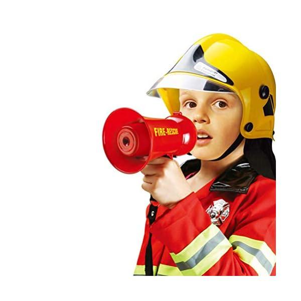 Egosy Kids Mini Speaker Simulation Pretend Kids Fire Brigade Megaphone Kids Mini Megaphone Toy para niñas niños 3