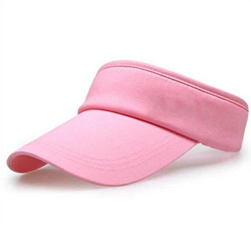 Crème Solaire Chapeau Vide L'été En Plein Air Les Femmes Ne Chapeau pink