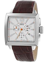 Esprit Herren-Armbanduhr Chronograph Leder EL101031F03