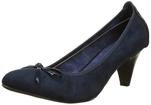 Bombe Di Ptite Damen Thrush Pumps Blau (navy)