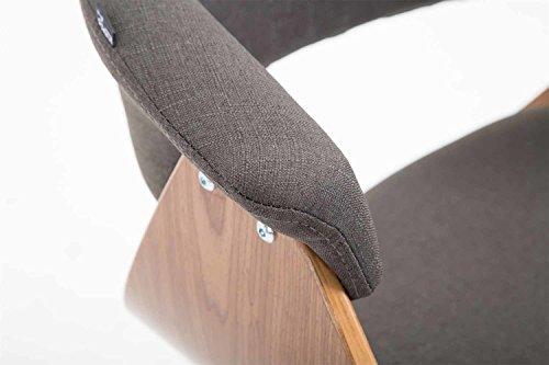 Sgabello alto da bar imbottito in pelle labor by hookl und stool