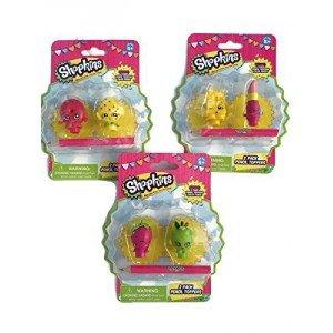 Moose Toys - Shopkins - Toppers de forme pour crayons - Modèle aléatoire pack 2