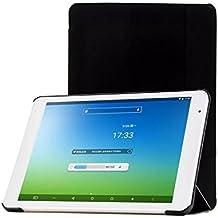 TopAce® Slim Smart Funda de Cuero Con Función de soporte para Teclast X98 Air III / X98 Air 3G / X98 Plus (Negro)