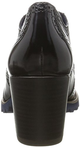 Tamaris 23302, Scarpe Stringate Oxford Donna Nero (Black)