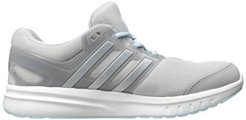 Adidas Performance Galaxy Elite 2.0 scarpa da corsa, brillante ciano / bianco / blu congelato, 5 M U Clear Grey/Silver/Frozen Blue