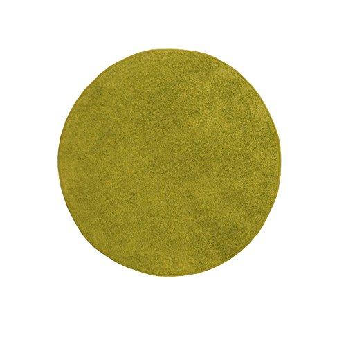 BESTSELLER Teppich rund HAVELT Shaggy Hochflor (130 cm rund, grün)
