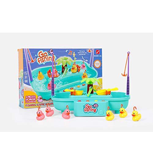 CX TECH Juego Juego Pesca Mini Juguetes baño Agua