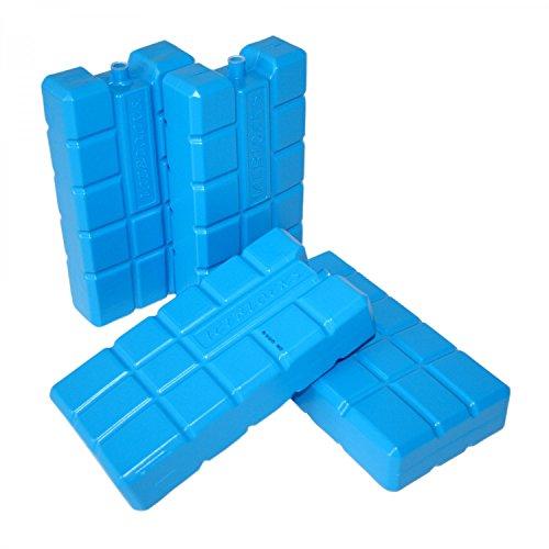 ToCi XXL Kühlakkus mit je 750 ml | Kühlelemente für die Kühltasche oder Kühlbox (4 Stück) (Akku-pack-große)