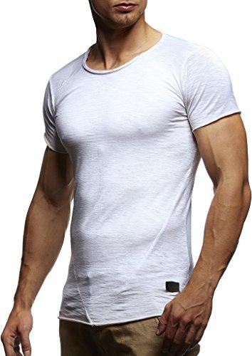 Zum Angebot · LEIF NELSON Herren Oversize verwaschene T-Shirts Rundhals  Shirts Basic LN6281-1  Größe a659aceca5