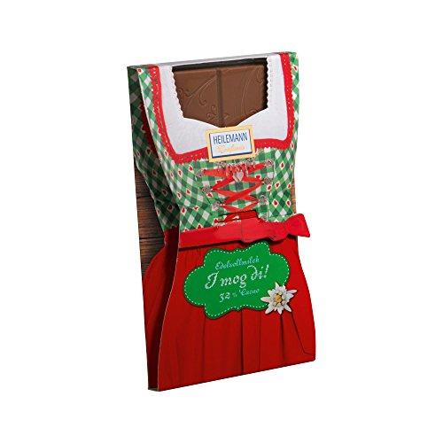 Preisvergleich Produktbild Heilemann - Schokoladen-Tafel Dirndl - 37g