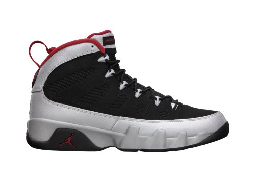 Nike Air Jordan 9 Retro Johnny Kilroy Limited Edition Basketball Shoeblack / Gym Rot / Metallic Plat -