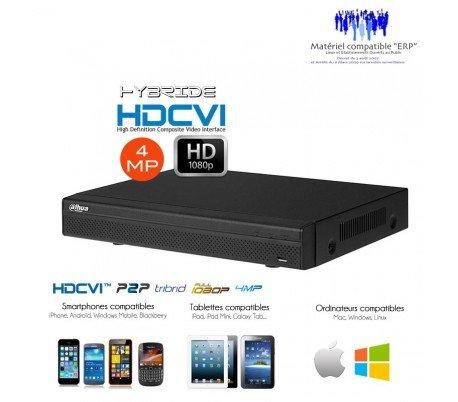 hd-cvi-Recorder Hybrid 4MP Full 1080P 16+ 8Kanäle Video-Überwachung HDCVI-dvr-hyb-784 Hybrid Video Recorder