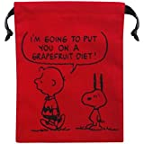Snoopy bolso paleta de color rojo SNKN1563