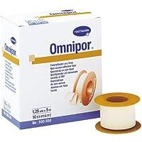 5 Rollen Hartmann Omnipor Streifenpflaster-2,5 cm x 9,2 m Rollenpflaster Fixierpflaster preisvergleich bei billige-tabletten.eu